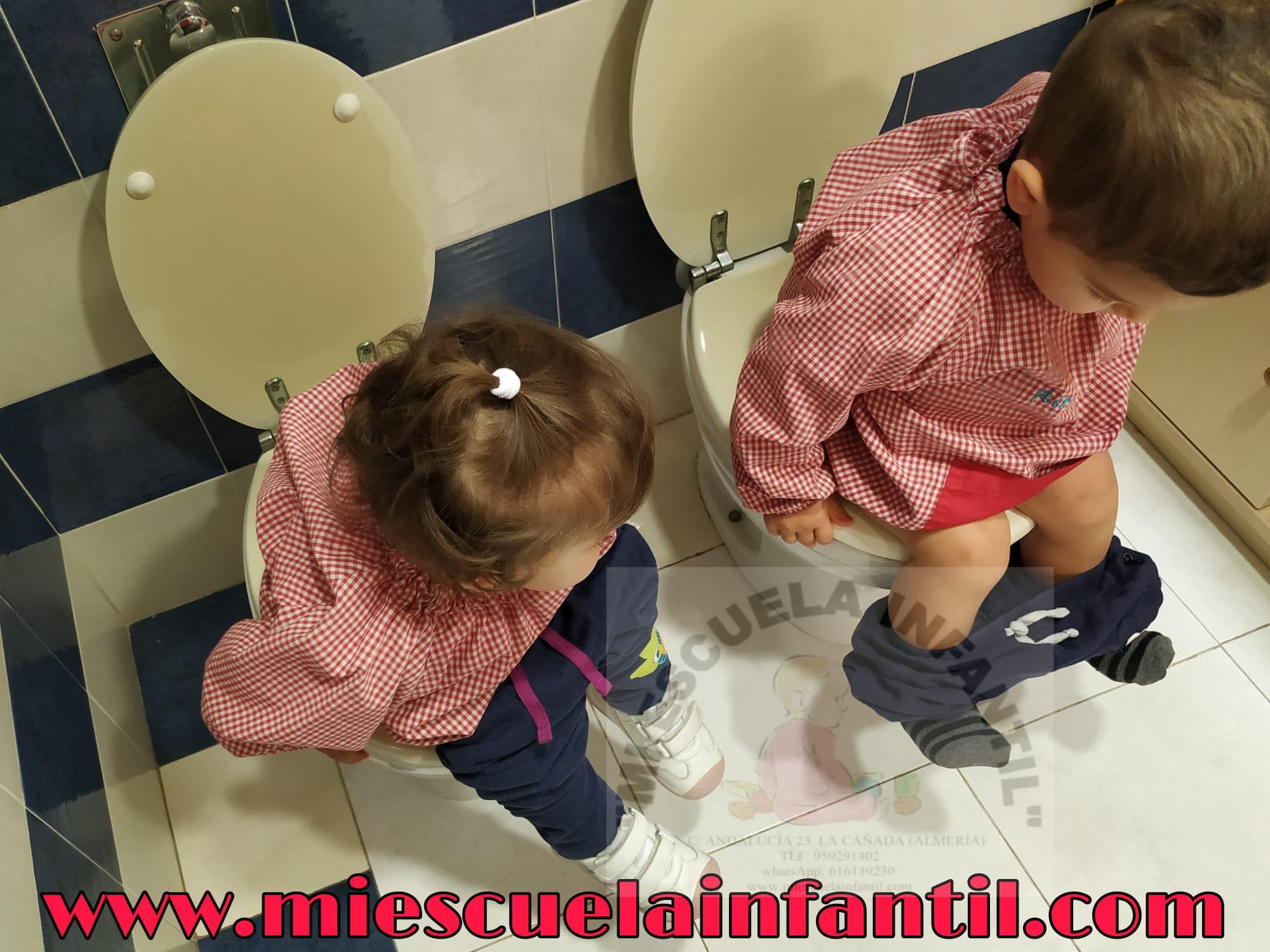 Cada niñ@ necesita su momento para conseguir el control de esfínteres